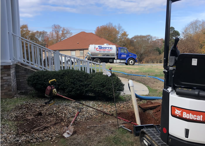Septic Tank Repair in Greer