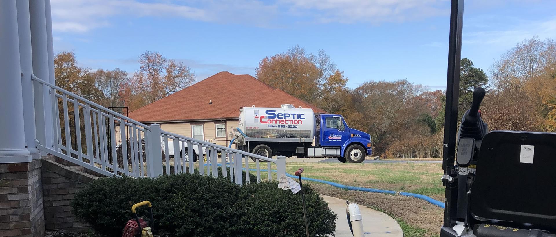 Septic Tank Repair in Fountain Inn