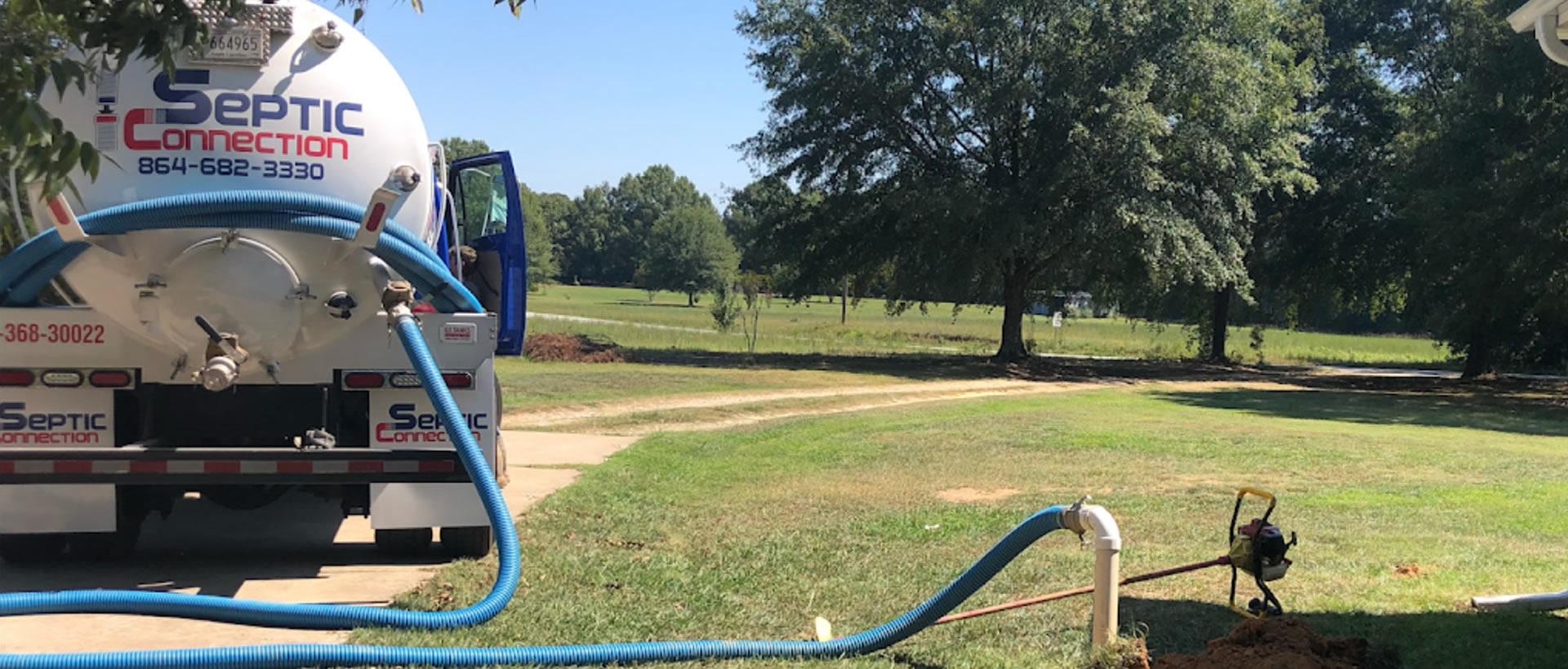 Septic Tank Repair in Simpsonville